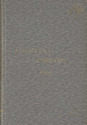 Almanak der Koninklijke Militaire Akademie 1914-01-01