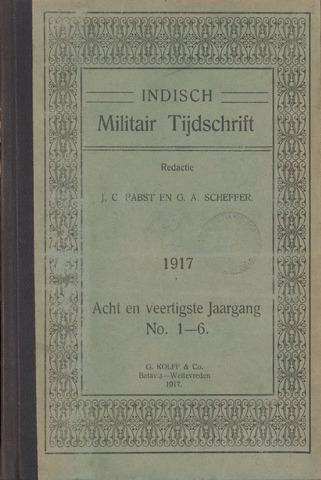 Indisch Militair Tijdschrift 1917