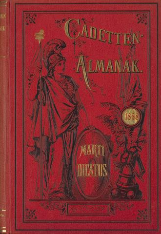 Almanak der Koninklijke Militaire Akademie 1888