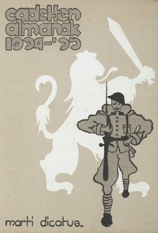 Almanak der Koninklijke Militaire Akademie 1934-09-01