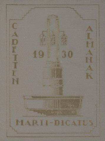 Almanak der Koninklijke Militaire Akademie 1930-01-01