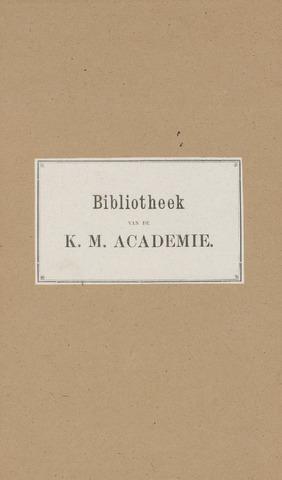 Indisch Militair Tijdschrift 1889
