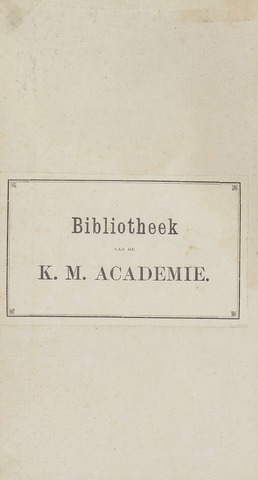 Militair Tijdschrift 1872-01-01