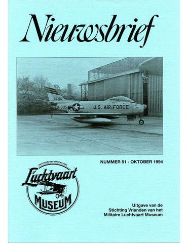 Nieuwsbrief Militaire Luchtvaart Museum 1994-10-01