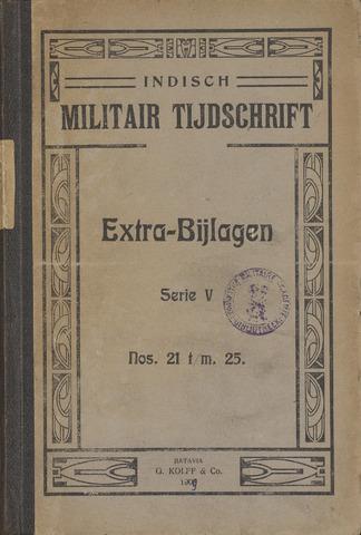 Indische Militair Tijdschrift - Extra Bijlagen 1909