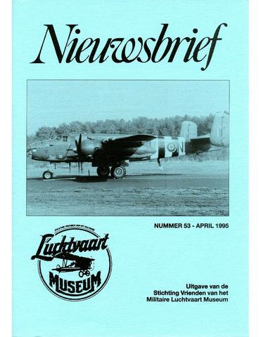 Nieuwsbrief Militaire Luchtvaart Museum 1995-04-01