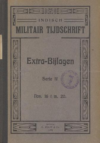 Indische Militair Tijdschrift - Extra Bijlagen 1908
