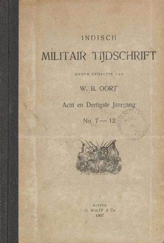 Indisch Militair Tijdschrift 1907-07-01