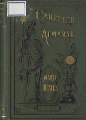 Almanak der Koninklijke Militaire Akademie 1899-01-01