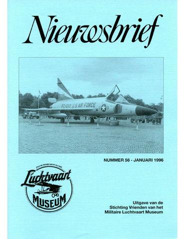 Nieuwsbrief Militaire Luchtvaart Museum 1996