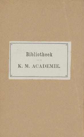 Indisch Militair Tijdschrift 1882-01-01