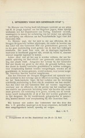 Indisch Militair Tijdschrift 1922-08-01