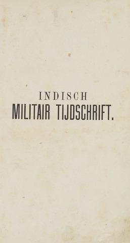 Indisch Militair Tijdschrift 1880