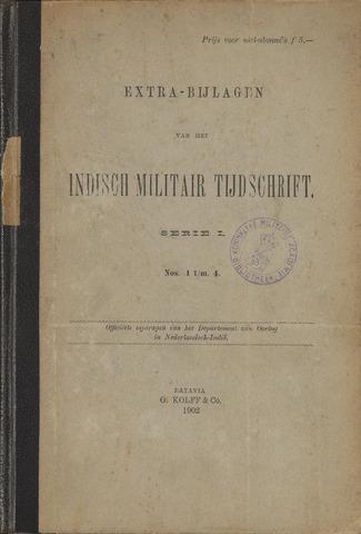 Indische Militair Tijdschrift - Extra Bijlagen 1902