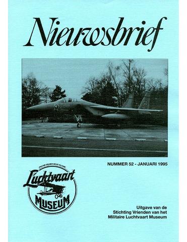 Nieuwsbrief Militaire Luchtvaart Museum 1995