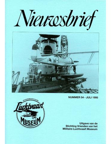 Nieuwsbrief Militaire Luchtvaart Museum 1995-07-01
