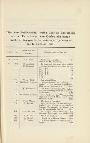 Indisch Militair Tijdschrift 1921