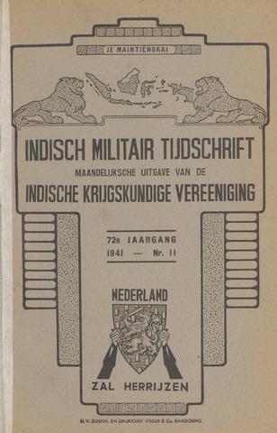 Indisch Militair Tijdschrift 1941-11-01