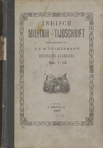 Indisch Militair Tijdschrift 1899-07-01
