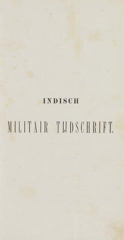 Indisch Militair Tijdschrift 1878-07-01