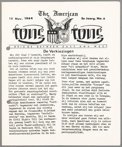 American Tong Tong 1964-11-15