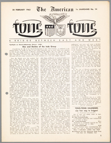 American Tong Tong 1963-02-28