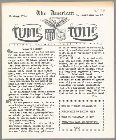 American Tong Tong 1964-08-15