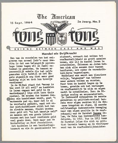 American Tong Tong 1964-09-15