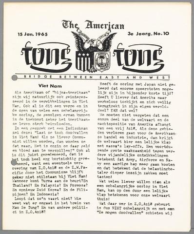 American Tong Tong 1965-01-15