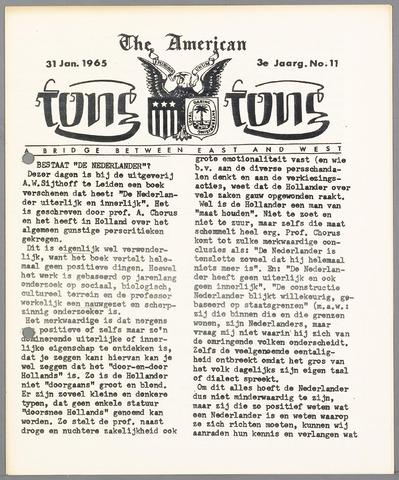 American Tong Tong 1965-01-31