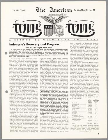 American Tong Tong 1963-07-15