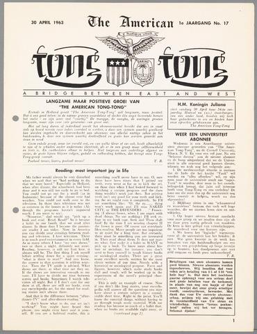 American Tong Tong 1963-04-30