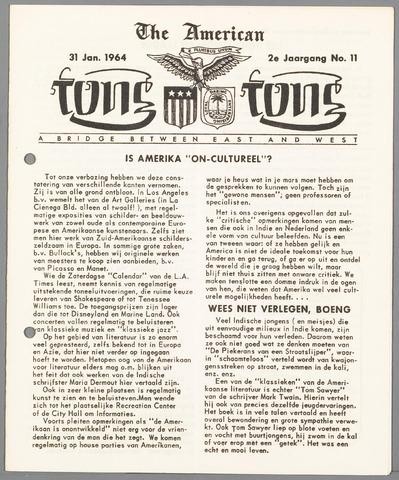 American Tong Tong 1964-01-31