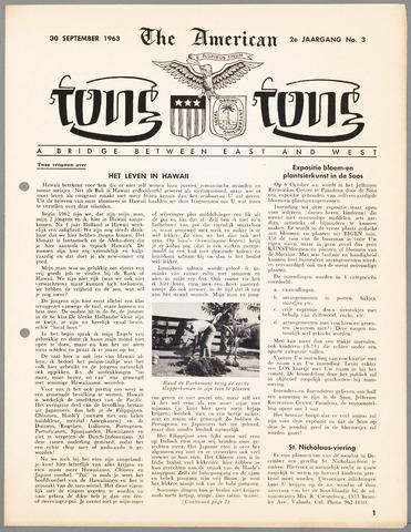American Tong Tong 1963-09-30