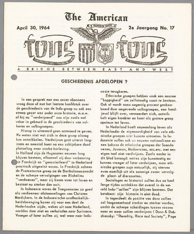 American Tong Tong 1964-04-30