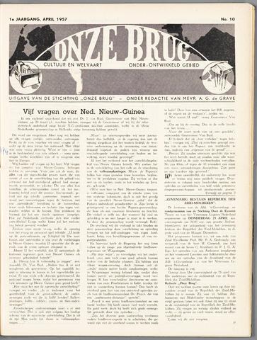 Onze Brug 1957-04-01
