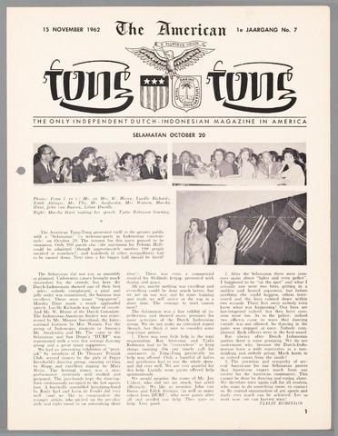 American Tong Tong 1962-11-15