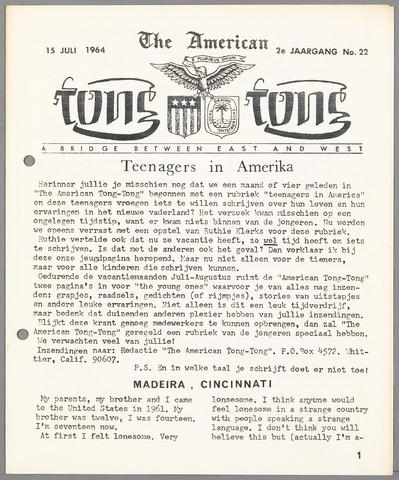 American Tong Tong 1964-07-15