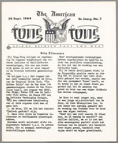 American Tong Tong 1964-09-30