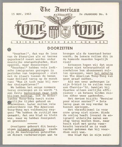 American Tong Tong 1963-11-15