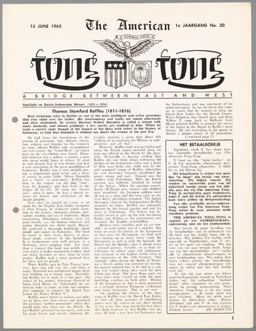 American Tong Tong 1963-06-15