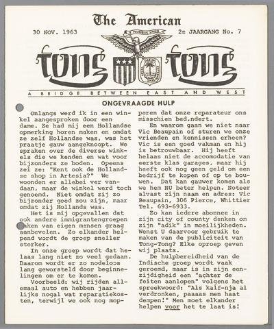 American Tong Tong 1963-11-30