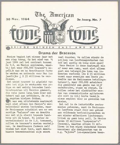 American Tong Tong 1964-11-30
