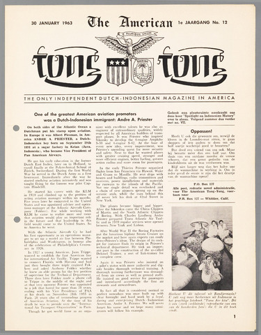 American Tong Tong 1963-01-30