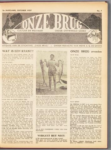 Onze Brug 1957-10-01
