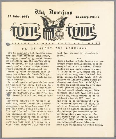 American Tong Tong 1965-02-28