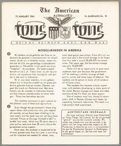 American Tong Tong 1964-01-15