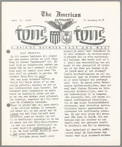 American Tong Tong 1964-05-15