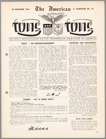 American Tong Tong 1962-12-30