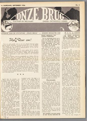 Onze Brug 1956-09-01